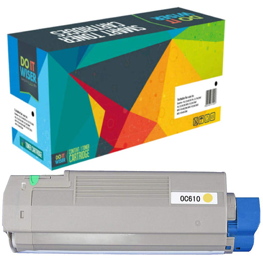 OKI C610 Toner Yellow