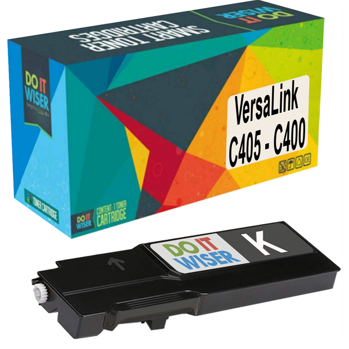 Xerox VersaLink C400d Toner Black Extra High Yield