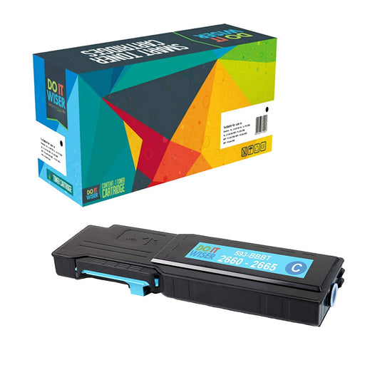 Dell C2665 Toner Cyan High Yield