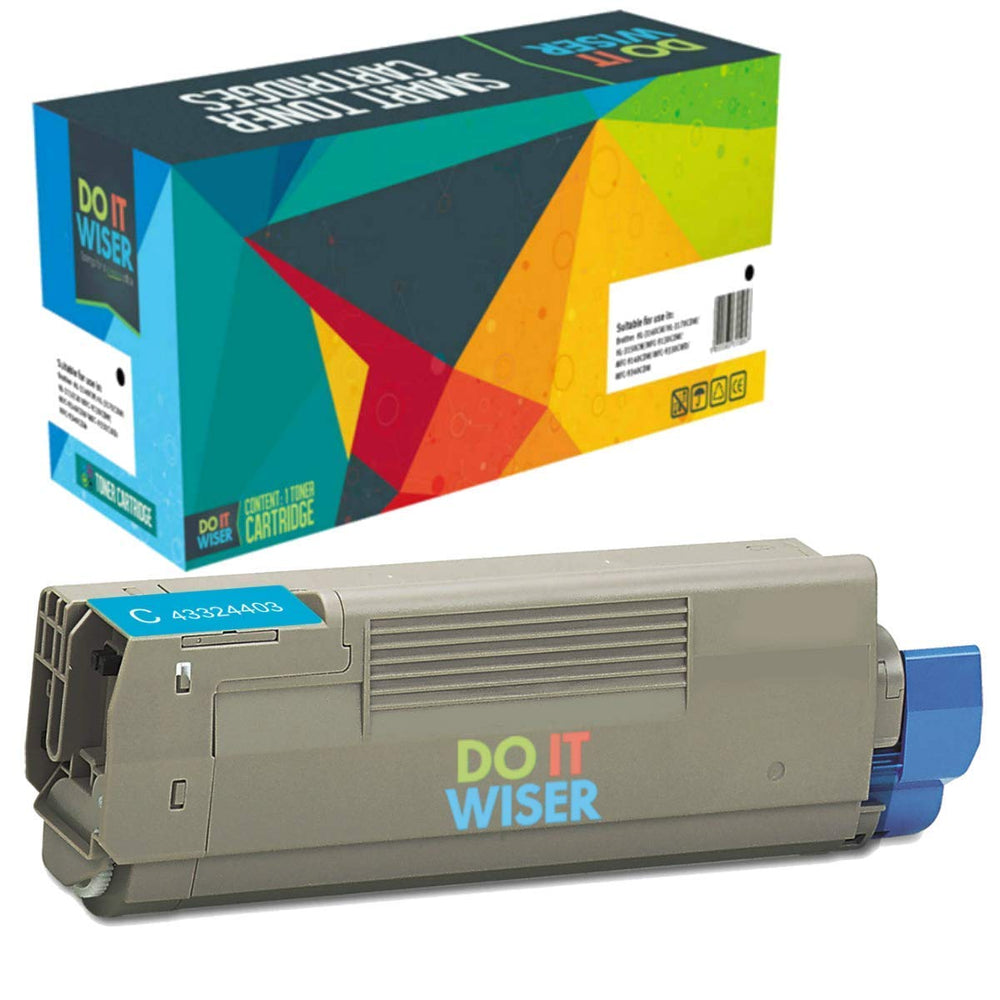 OKI C5500N Toner Cyan High Yield