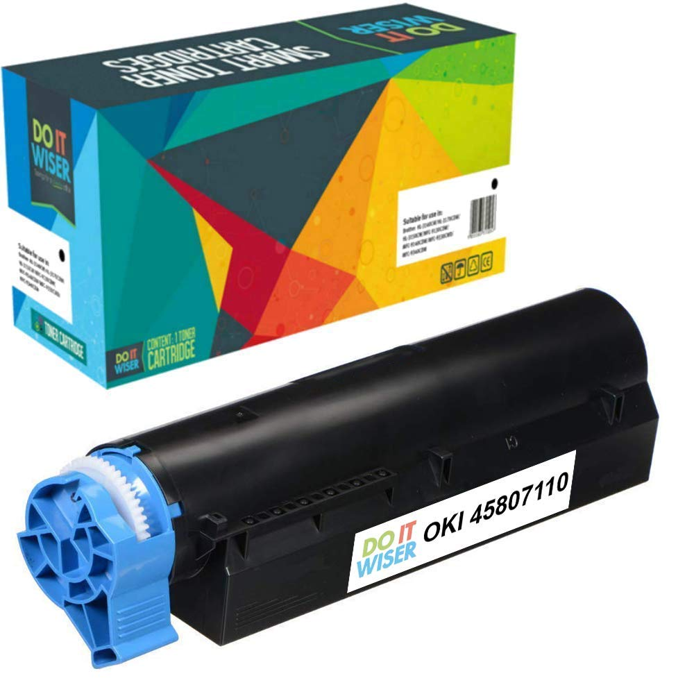 OKI B512DN Toner Black Extra High Yield