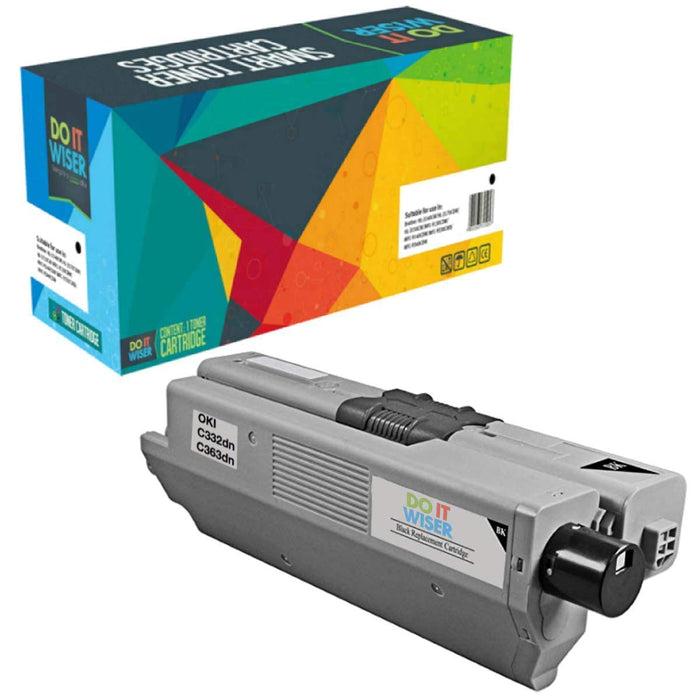 OKI C332 Toner Black High Yield
