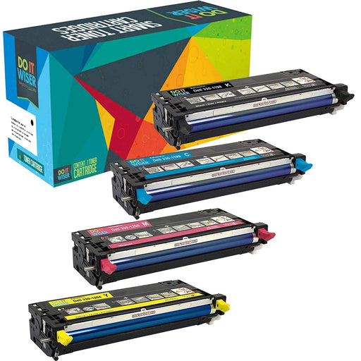 Dell 3130cdn Toner Set High Yield