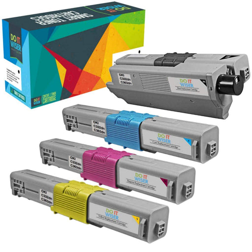 OKI C332dn Toner Set High Yield