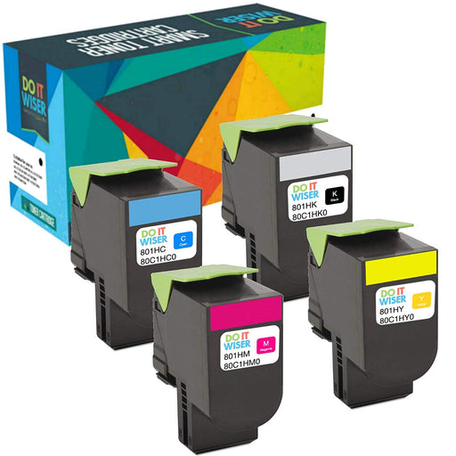 Lexmark CX510dthe Toner Set High Yield