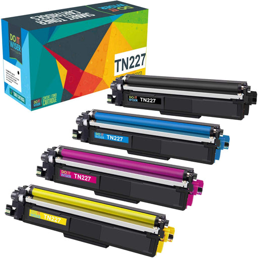 Brother TN227 Toner Set High Yield