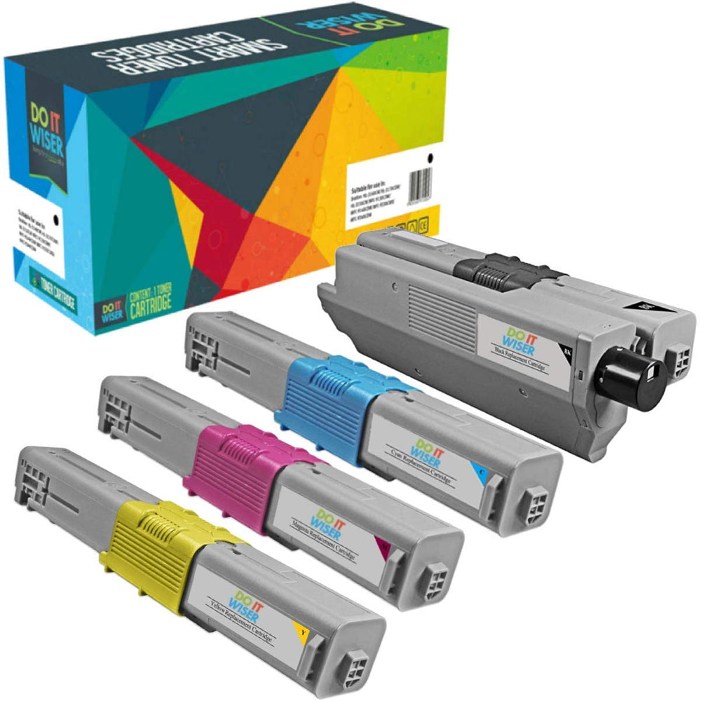 OKI C330DN Toner Set High Yield