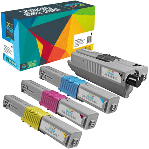 OKI MC351DN Toner Set High Yield