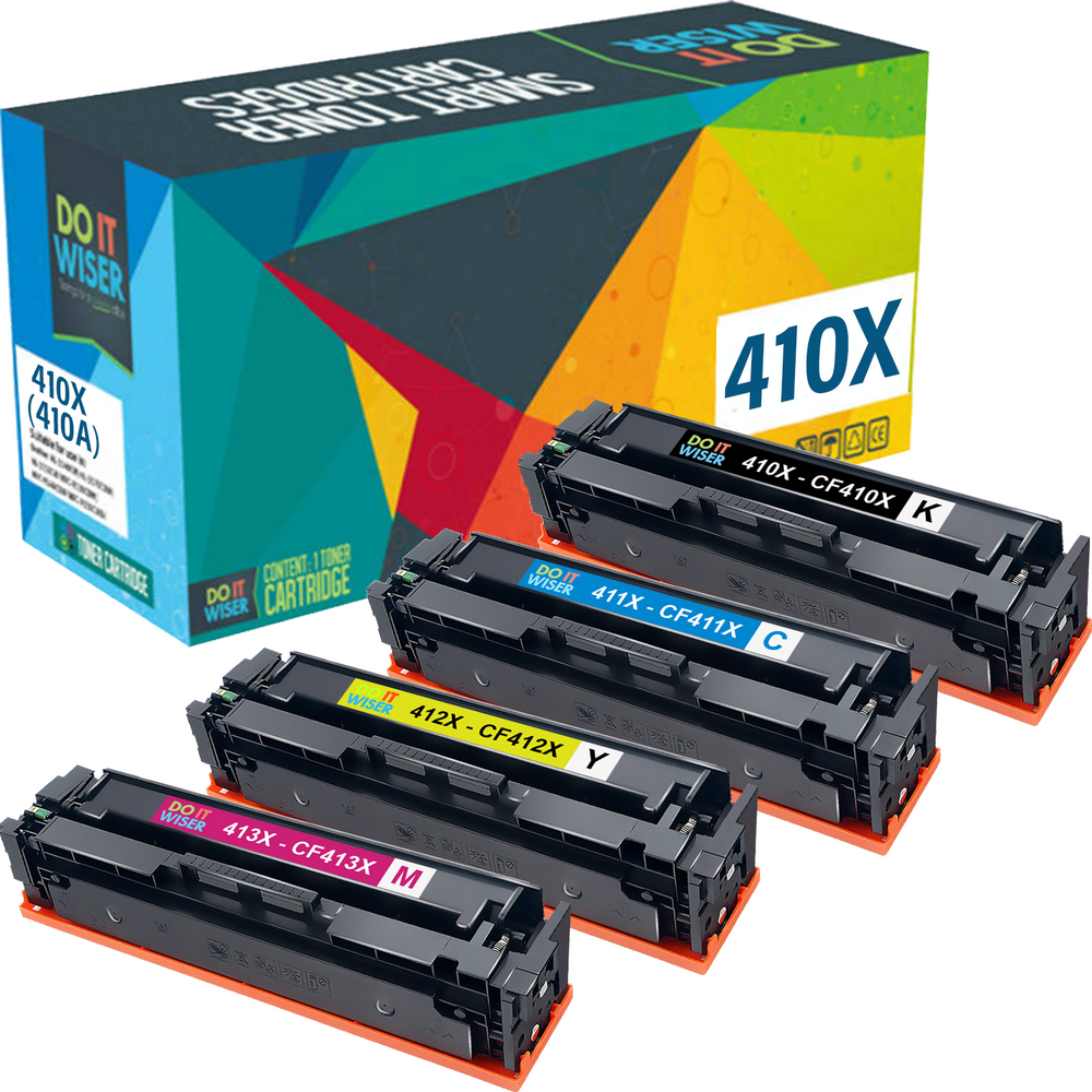 HP 410X Toner Set High Yield