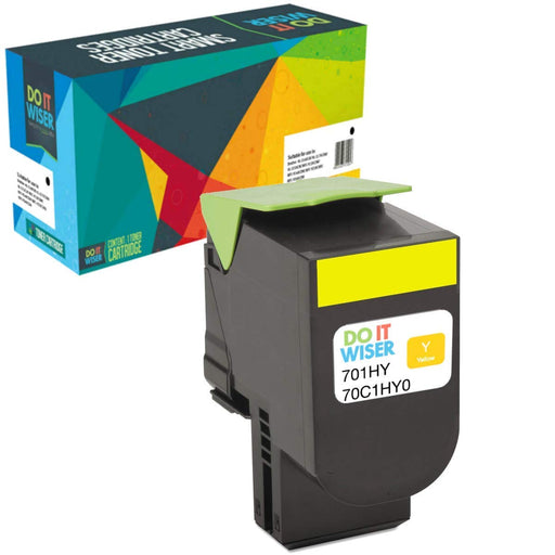 Lexmark CS510dte Toner Yellow High Yield