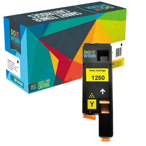Dell 1250 Toner Yellow High Yield