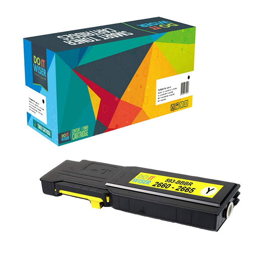 Dell C2665 Toner Yellow High Yield