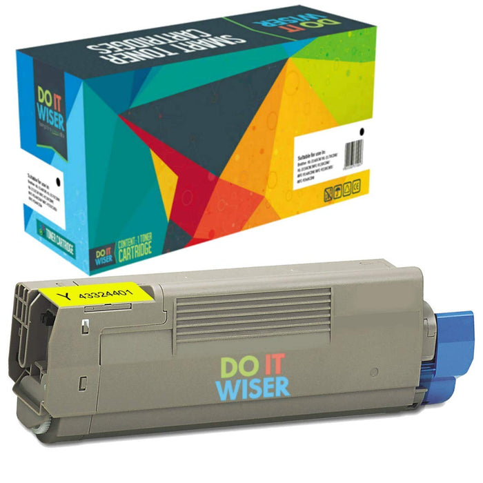 OKI C5800DLN Toner Yellow High Yield