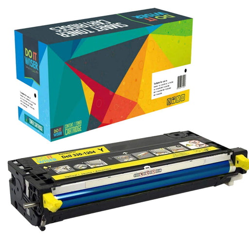 Dell 3130cdn Toner Yellow High Yield