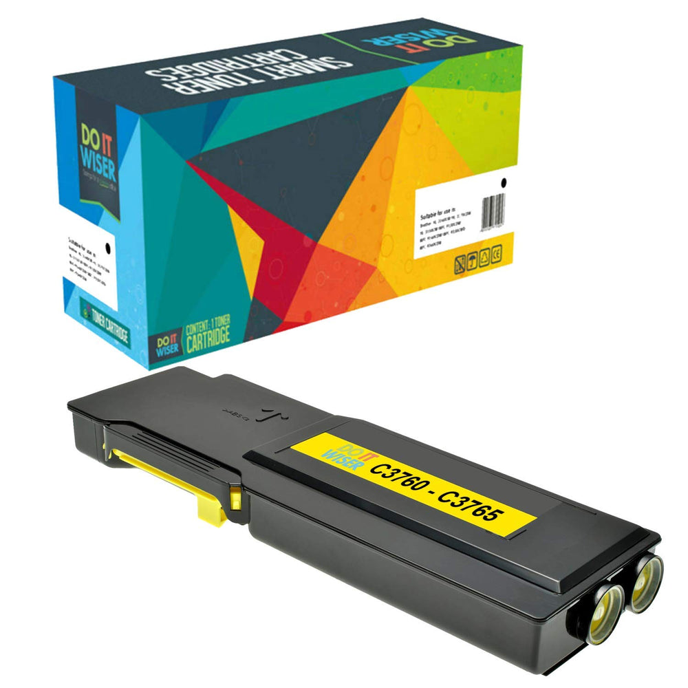 Dell C3760dn Toner Yellow Extra High Yield