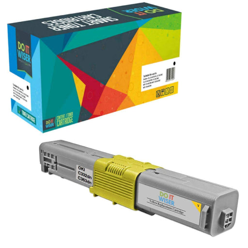 OKI C332 Toner Yellow High Yield