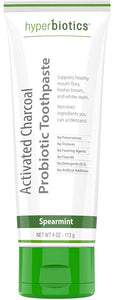 Activated Charcoal Probiotic Toothpaste