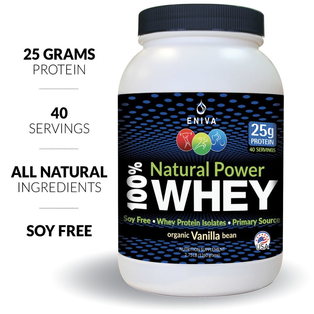 Natural Power Whey Protein (40 Servings - 1 Jar)