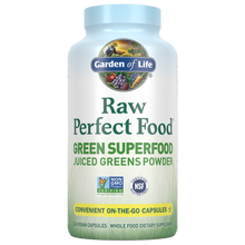 Load image into Gallery viewer, Raw Perfect Food Green Superfood 240 Capsules