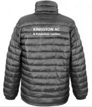 Load image into Gallery viewer, KACPH Mens Lightweight Black Padded Jacket -  Back