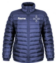 Load image into Gallery viewer, KACPH Mens Lightweight Blue Padded Jacket -  Front