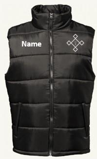 KACPH Mens Body Warmer - Front