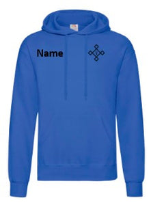KACPH Childrens Blue Hoodie - Front