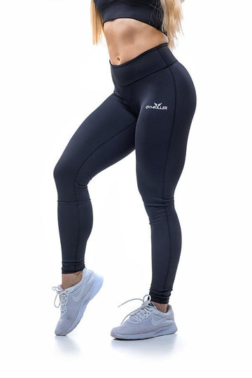 DALY Leggings Black - GYMKILLER