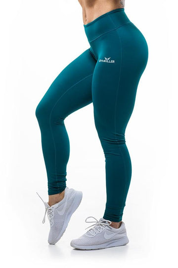 DALY Leggings Blue - GYMKILLER
