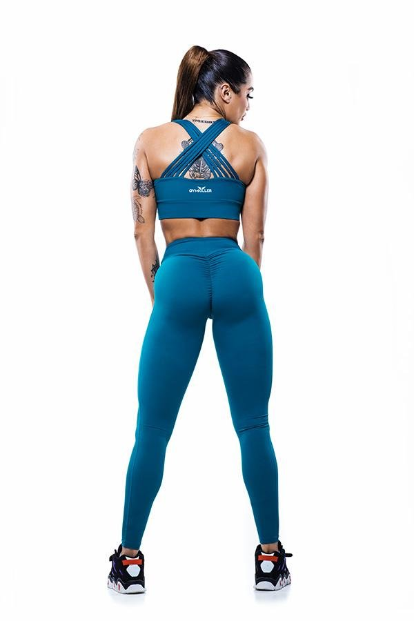 DALY Sports Bra Blue - GYMKILLER