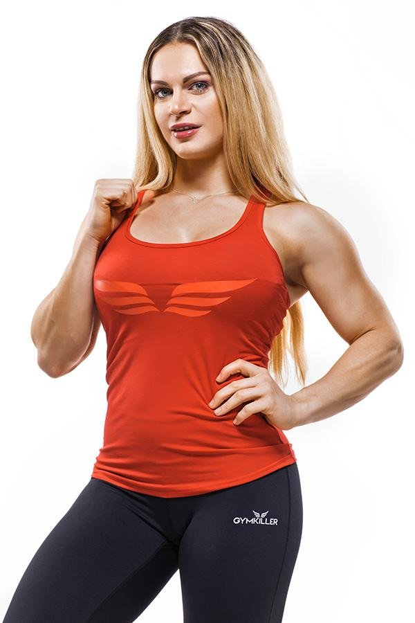 EVELIEN Tank top Red - GYMKILLER