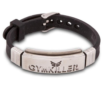 GYMKILLER – Black/ Metal colored Bracelet - GYMKILLER