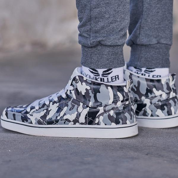 JEFF Camo Sneakers - GYMKILLER