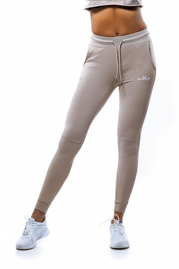 RUTH Jogger Pants Sand - GYMKILLER