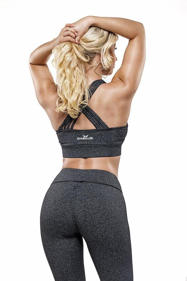 SANDRA Sports Bra Black Special Edition - GYMKILLER
