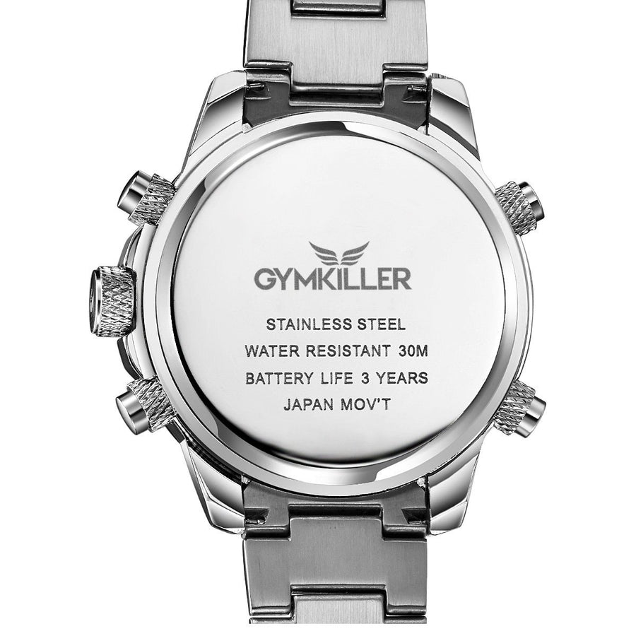 Stainless Steel GYMKILLER™ Watch - GYMKILLER