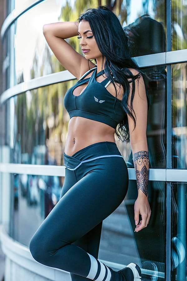 TAMMY – Leggings Black - GYMKILLER