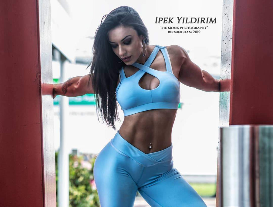 TAMMY – Leggings Blue - GYMKILLER