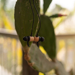 Bamboo Sports Magnetic Bluetooth Earbuds w/ Secure Inner Ear Fit