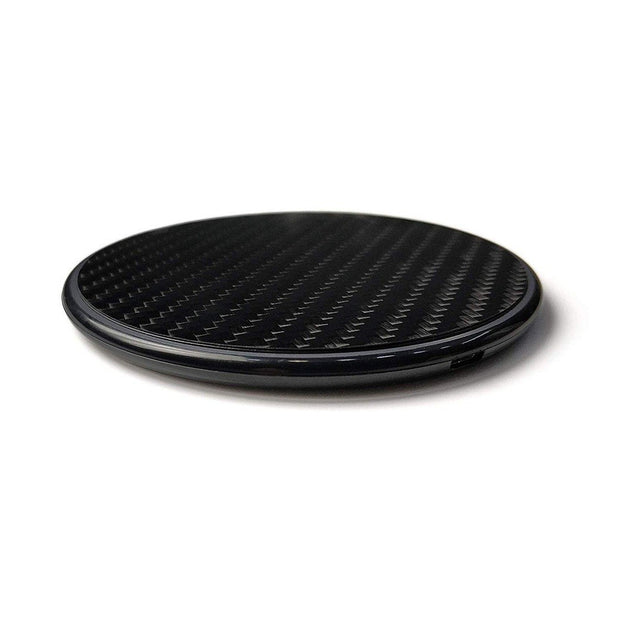 Carbon Fiber Qi Enabled Wireless Smartphone Charger