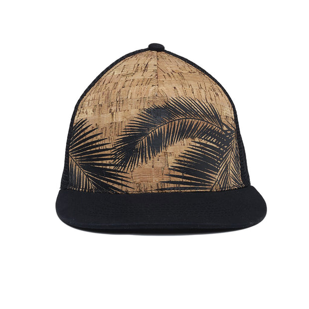 Cork Trucker Hat - Palm Tree