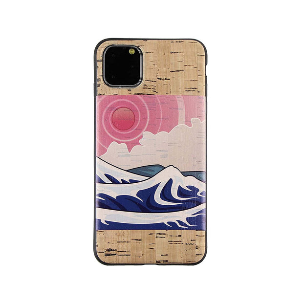 Izu Cork Printed Case for iPhone 12/ 12 Mini / 12 Pro / 12 Pro Max / 11 / 11 Pro / 11 Pro Max / SE 2020 / XR / XS Max / 7 / 8 / 7 Plus / 8 Plus