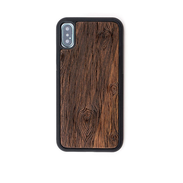 Walnut Laser Engraved Case for iPhone 12 / 12 Mini / 12 Pro / 12 Pro Max / 11/ 11 Pro/ 11 Pro Max/ XR/ XS/ X