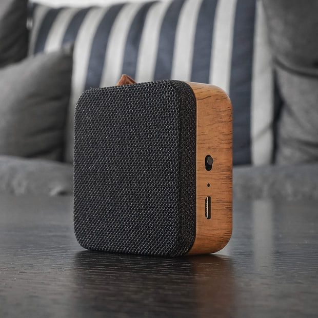 Wood Inspired Mini Portable Travel Speaker