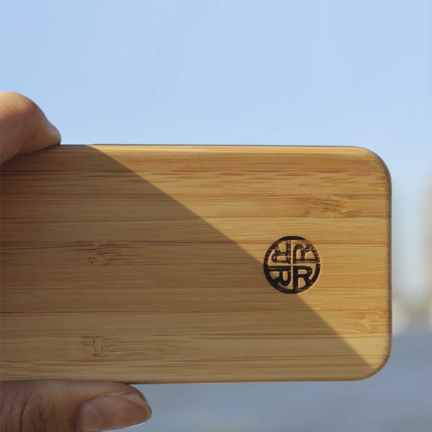 Zen Garden Bamboo iPhone Case