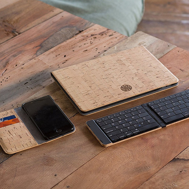 Cork Wood iPad Case