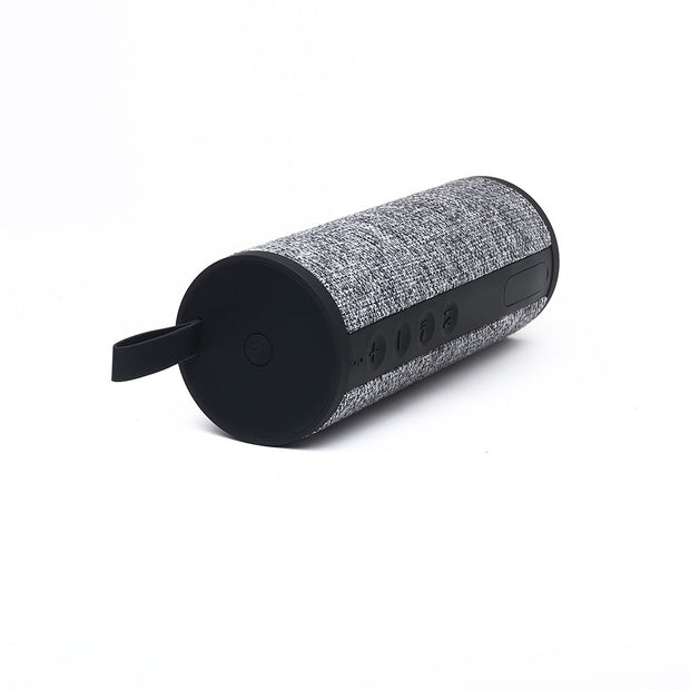 Natural Fabric (Linen) 360 Degree Surround Sound Bluetooth Wireless Speaker
