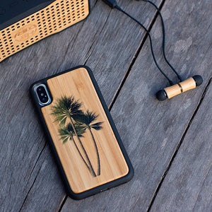 Palm Tree Bamboo iPhone Case