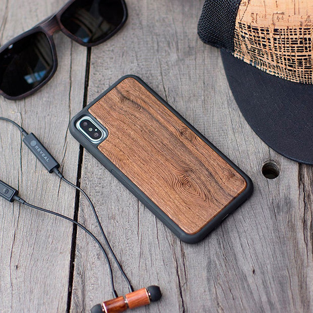 Walnut Engraved iPhone Case