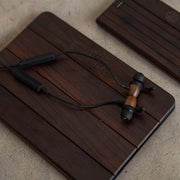 Wood Sports Magnetic Bluetooth Earbuds w/ Secure Inner Ear Fit-Revealshop.com